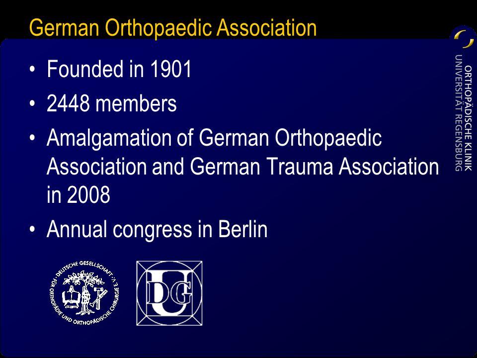German Orthopaedic Association