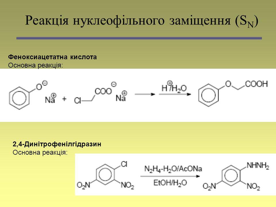 Реакція нуклеофільного заміщення (SN)