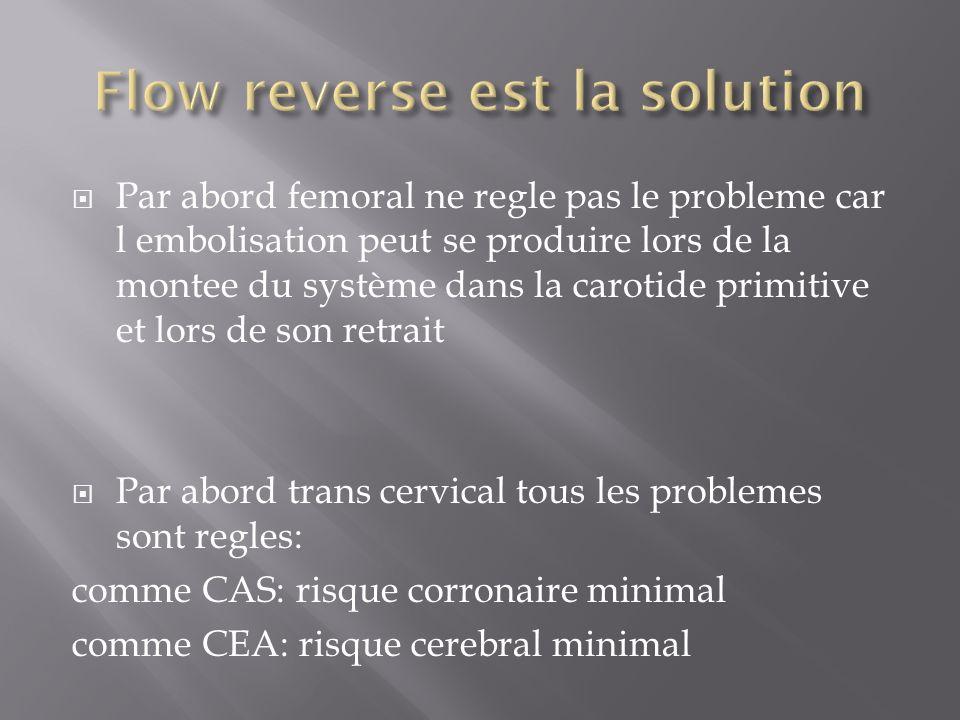 Flow reverse est la solution