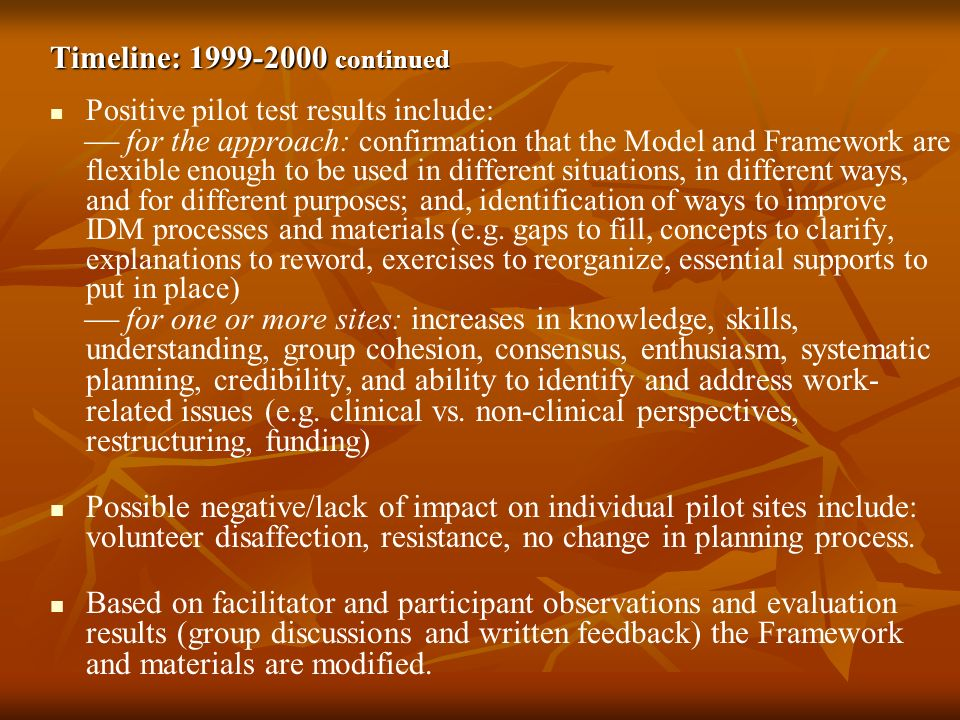 Timeline: 1999-2000 continued