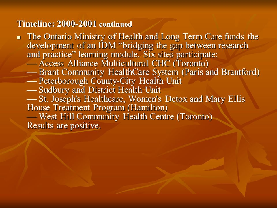 Timeline: 2000-2001 continued