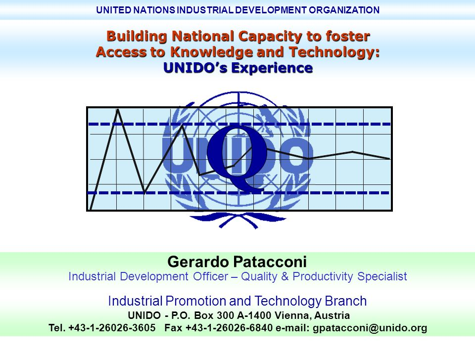 Gerardo Patacconi Building National Capacity to foster