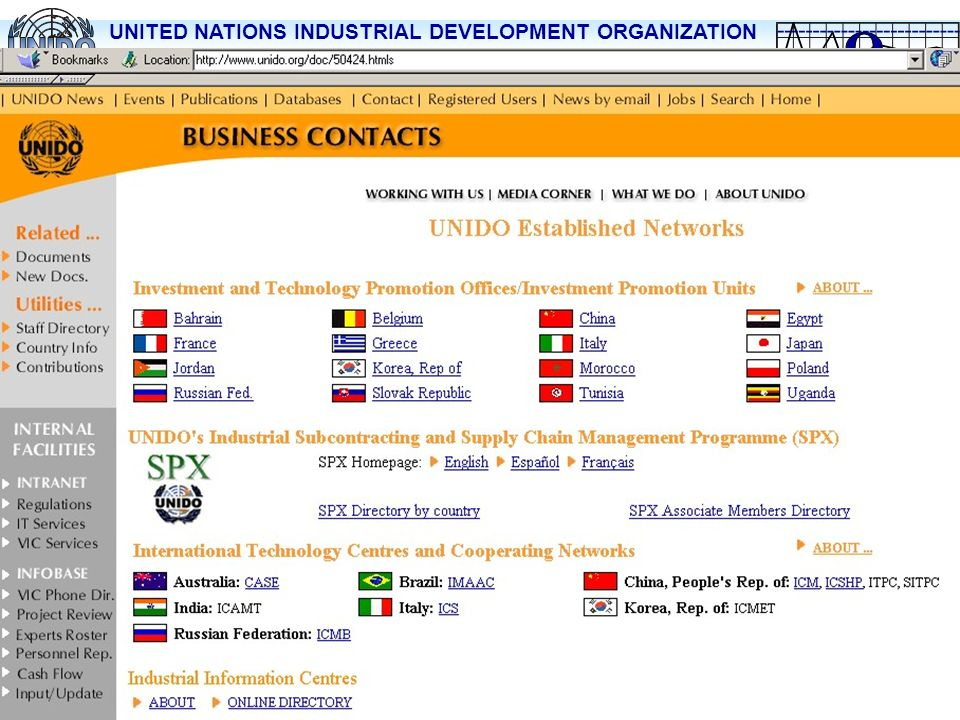 International Technology Centers and