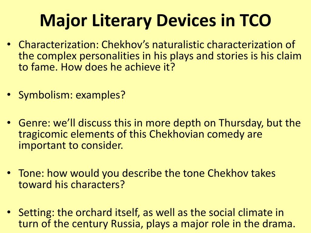 The cherry orchard anton chekhov ppt video online download 7 major buycottarizona