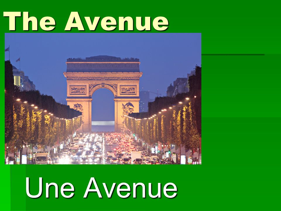 The Avenue Une Avenue