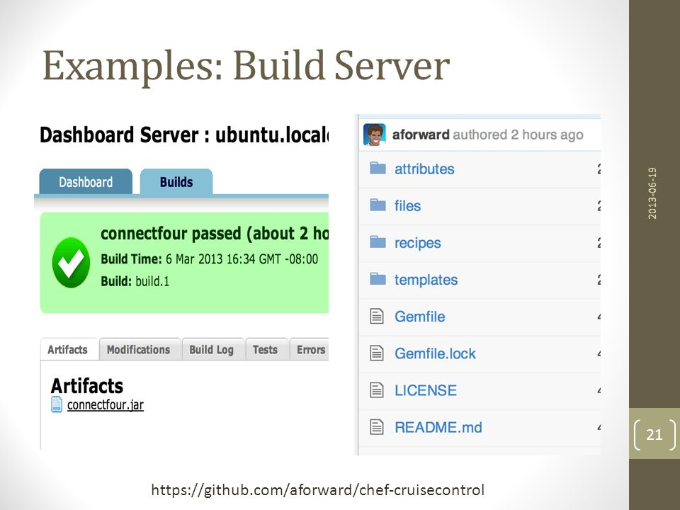 Examples: Build Server