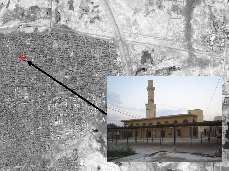 FALLUJAH VIGNETTE #10 Mosque Weapons Cache. Insurgents used the Said Ibn Ab Waqas Mosque as a weapons and ammunition cache.