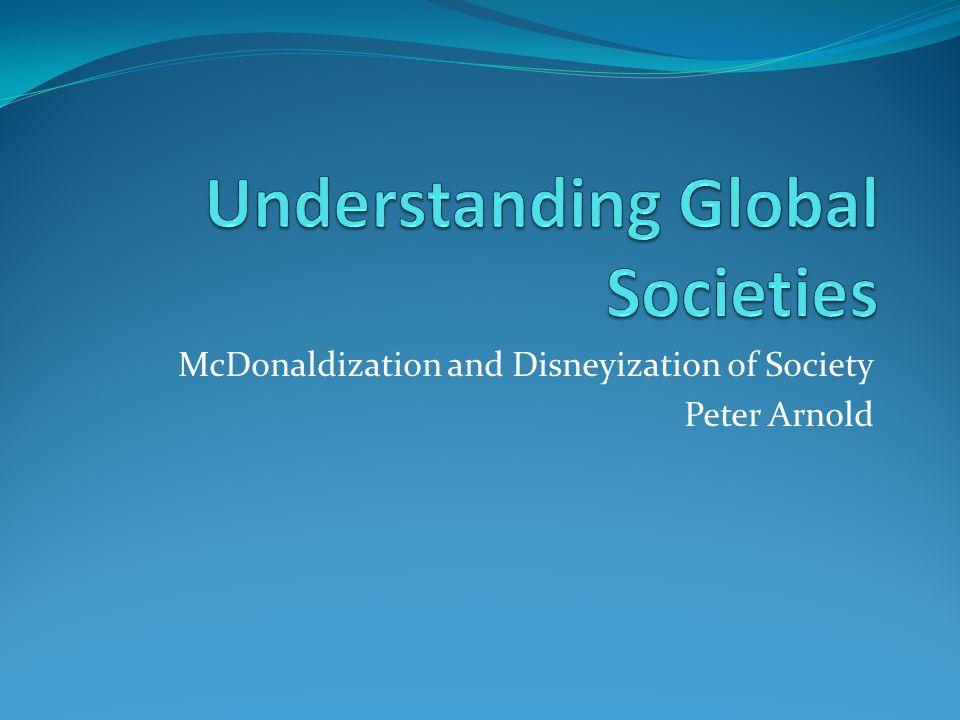 mcdonaldization of society summary