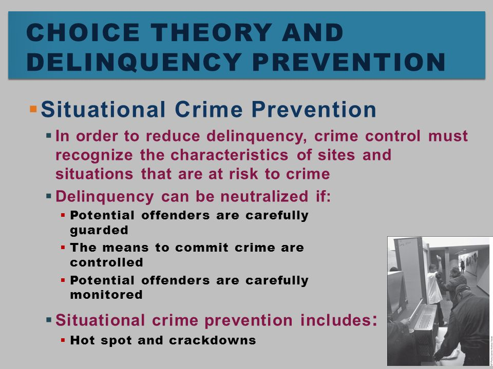 crime and delinquency control Foundation for a general strain theory of crime and delinquency r agnew  criminology 30  social control theory and delinquency: a longitudinal test r  agnew.