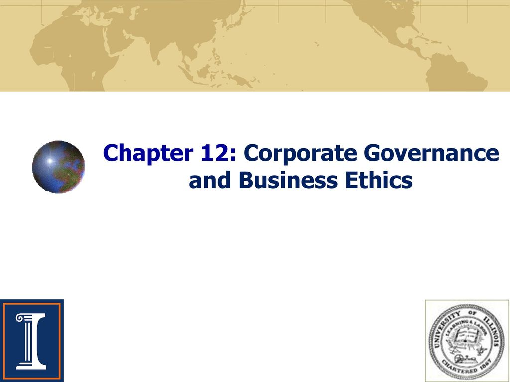 corporate governance and business ethics case Business ethics | corporate governance chapter provides an insight into the  subject of ethics and business ethics many philosophers have expressed  different.