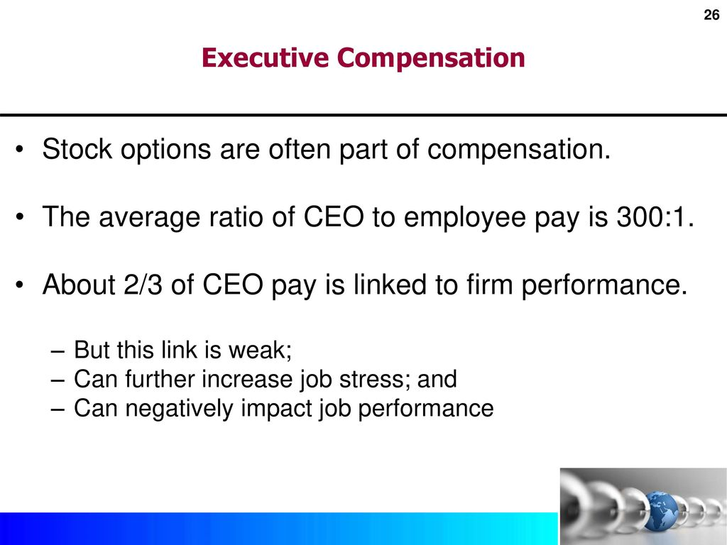 Ethics and ceo pay