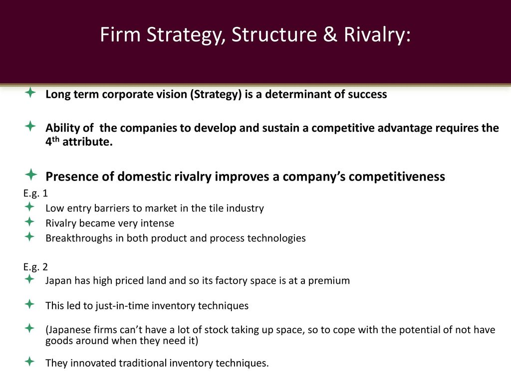 firms strategy and structure Abstract this paper focuses on three strategies for realizing economic benefits from the multiproduct firm: vertical integration, related diversification, and unrelated diversification.