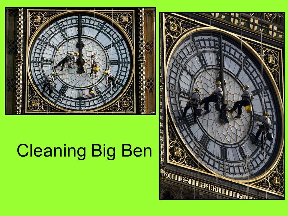 Cleaning Big Ben