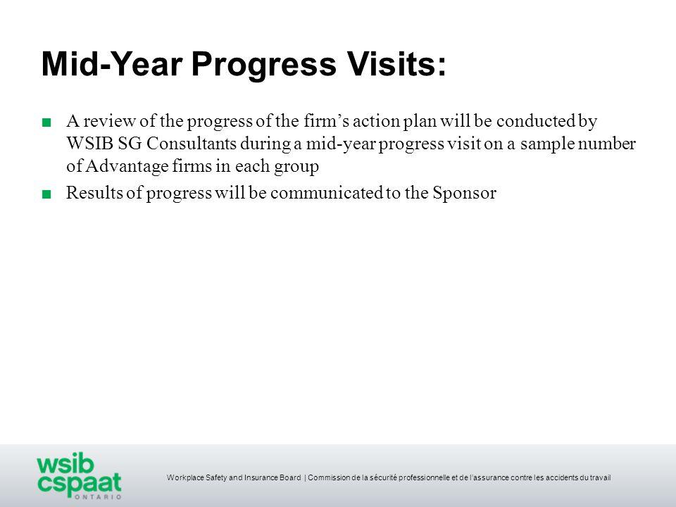 Mid-Year Progress Visits: