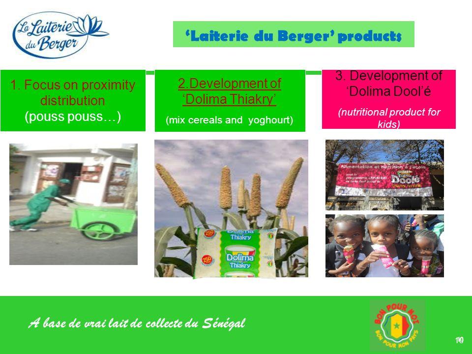 'Laiterie du Berger' products