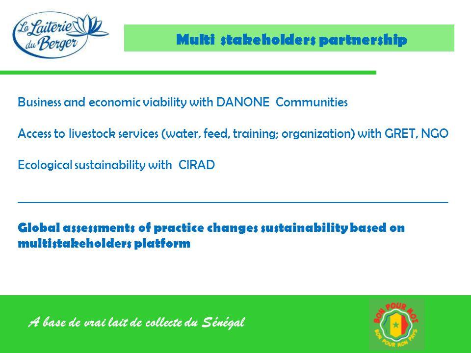 Multi stakeholders partnership