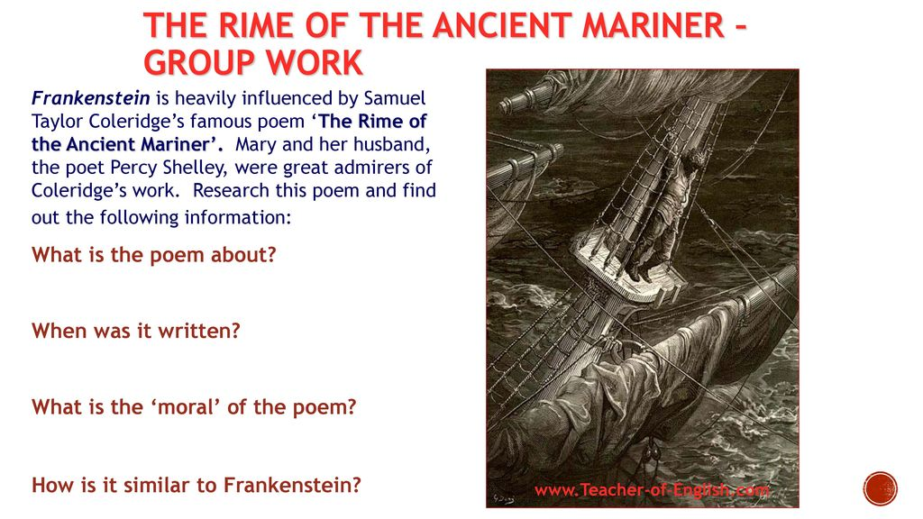 an analysis of coleridges poem the rime of the ancient mariner Check your understanding of coleridge's famous poem ''the rime of the ancient mariner'' using this interactive quiz and printable worksheet these.