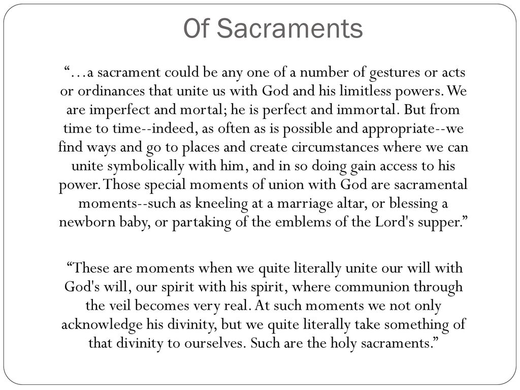 Chastity of souls symbols and sacraments ppt download 15 of sacraments buycottarizona Gallery