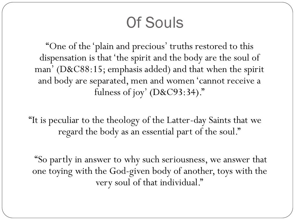 Chastity of souls symbols and sacraments ppt download 7 of souls buycottarizona Gallery