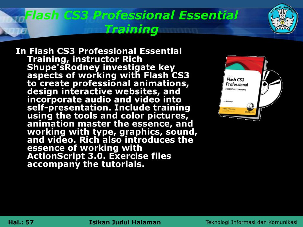 install flash cs3
