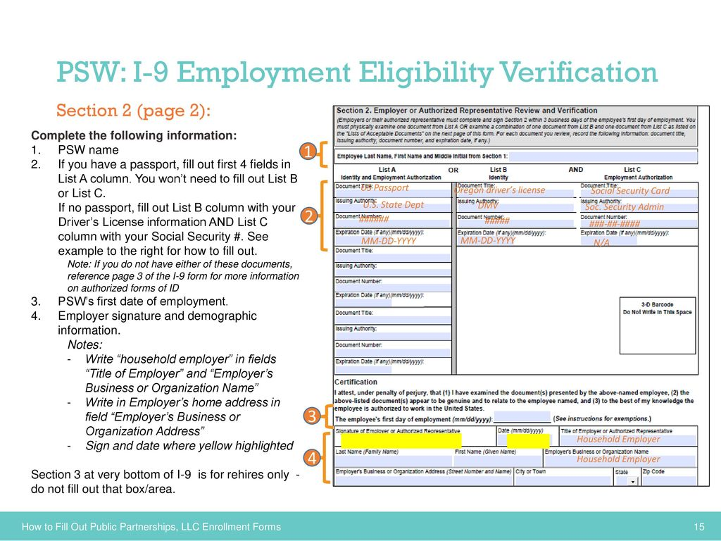 Employers/Individuals and Personal Support Workers (PSWs ...