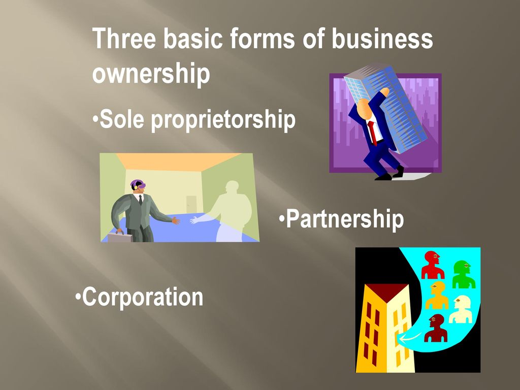forms of business ownership pdf
