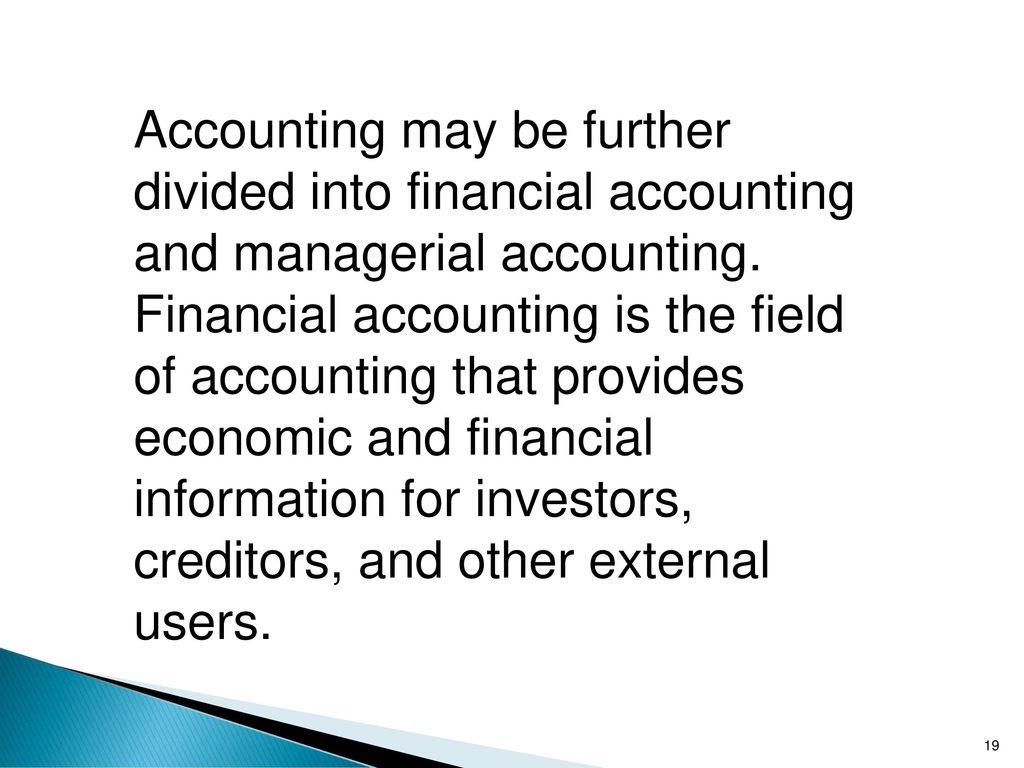 managerial and finanical accounting report Studies in managerial and financial accounting is a positive compendium of  of  corporate governance and financial reporting in china by huiying wu,.
