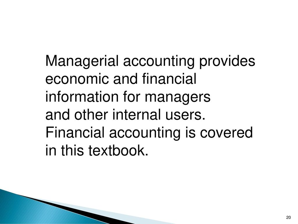 The Role of Accounting & Finance in Business Management