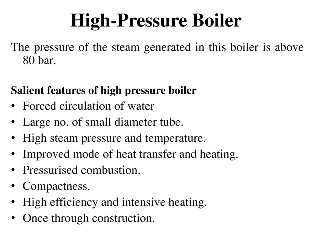 Old Fashioned High Pressure Boiler Ppt Download Sketch - Electrical ...