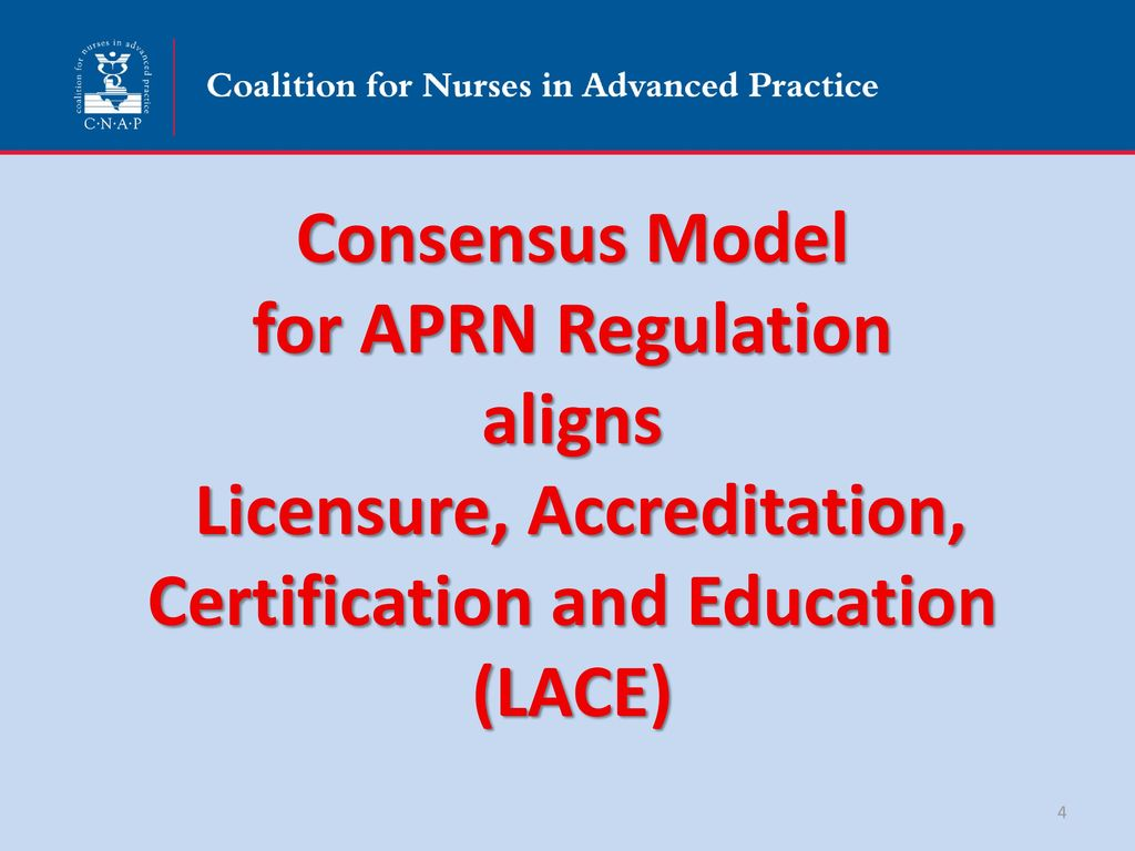 Aprn practice professional advocacy in texas ppt download consensus model for aprn regulation aligns licensure accreditation certification and education lace 1betcityfo Images