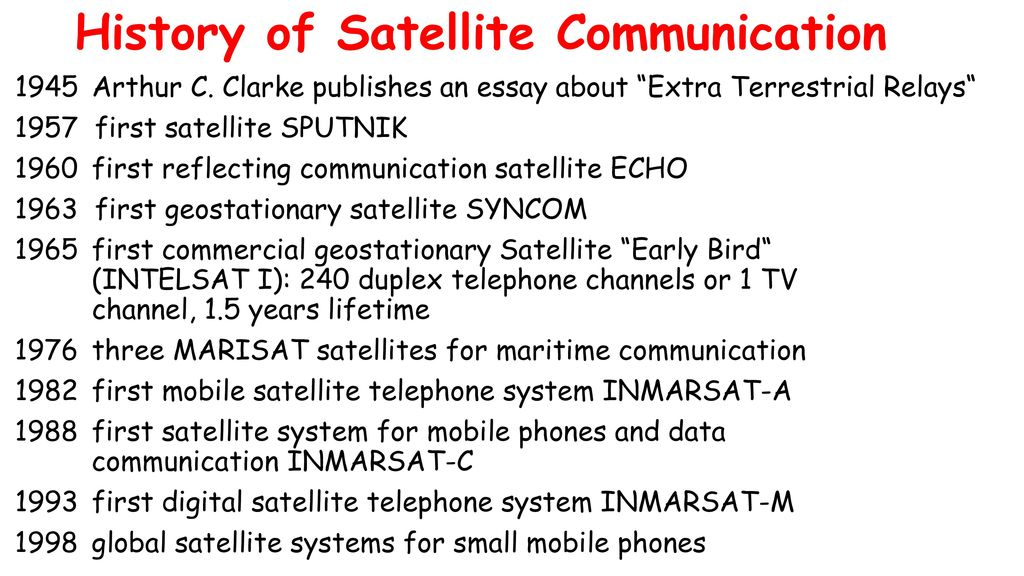 what is the main purpose of a satellite media essay Key replacement personal accident insurance one west main street is not intended for general informational purposes only media industry is.