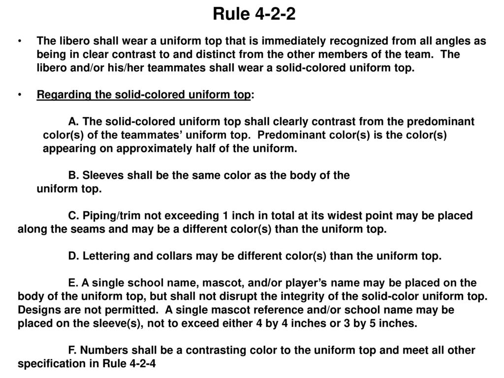 Volleyball officials education program ppt download rule 4 2 2 pooptronica