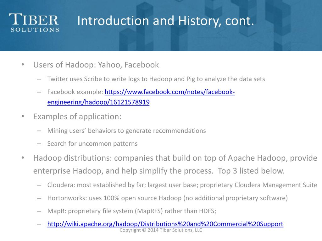 Introduction to hadoop ppt download 4 introduction baditri Gallery