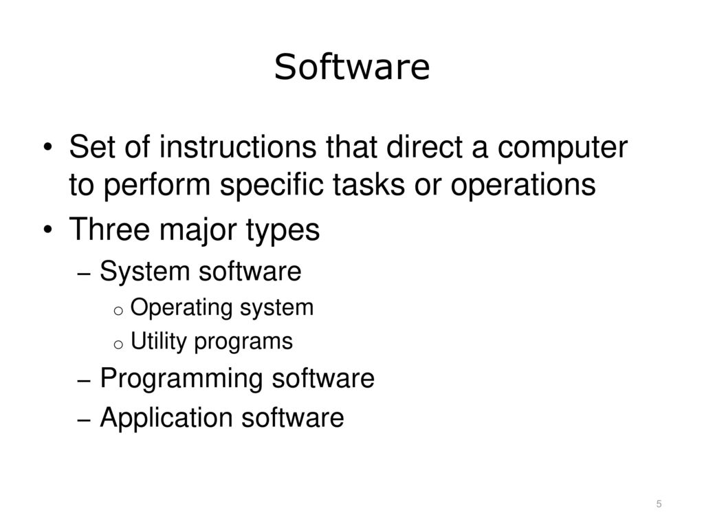 operating system definition and types pdf