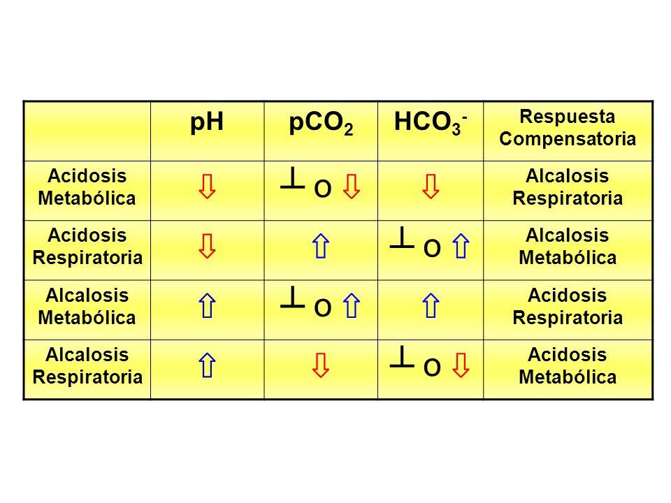 Respuesta Compensatoria Alcalosis Respiratoria Acidosis Respiratoria
