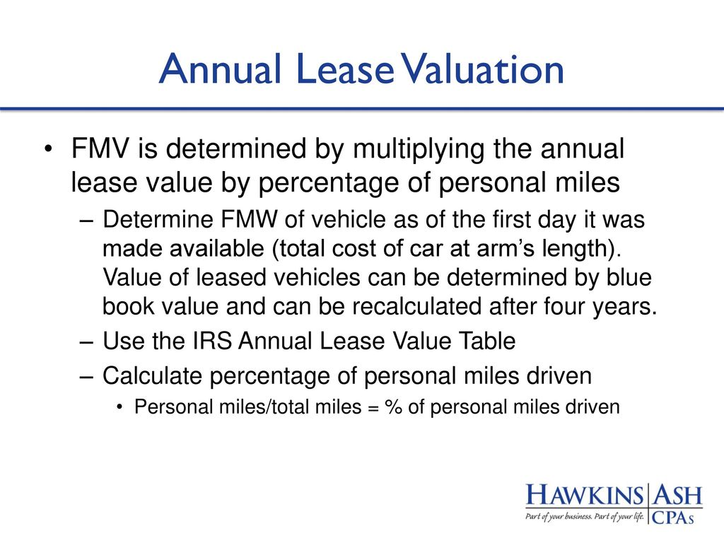 Calculate Car Value After Lease