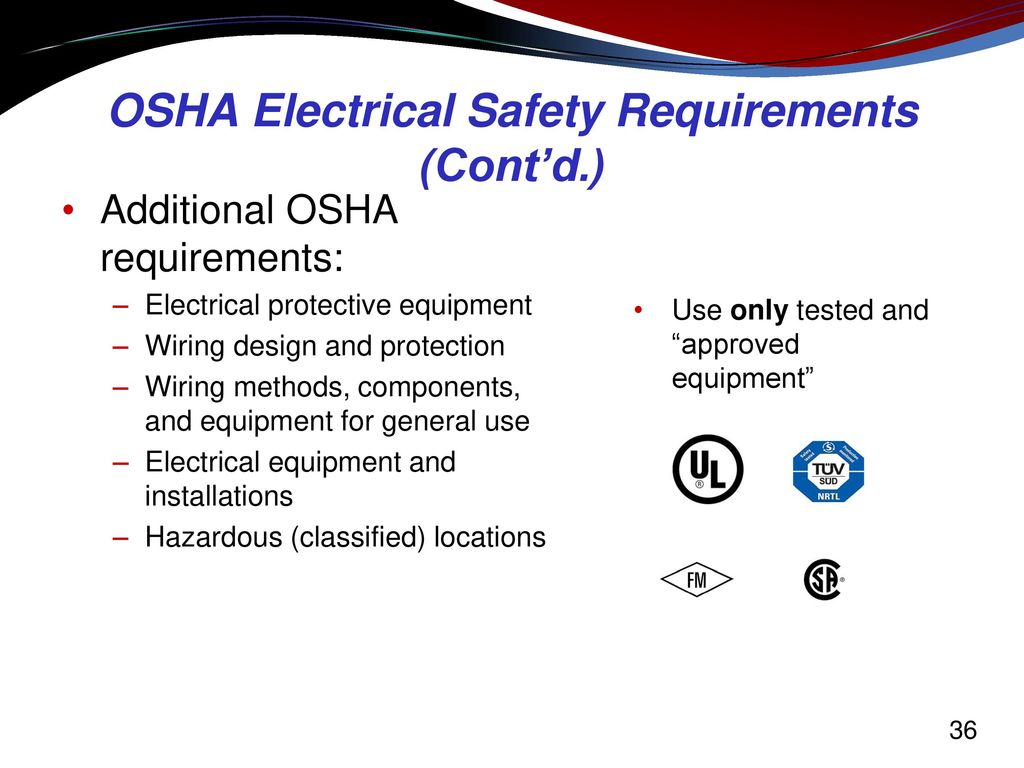 Electrical hazard awareness training for non electrical workers 36 osha electrical xflitez Choice Image