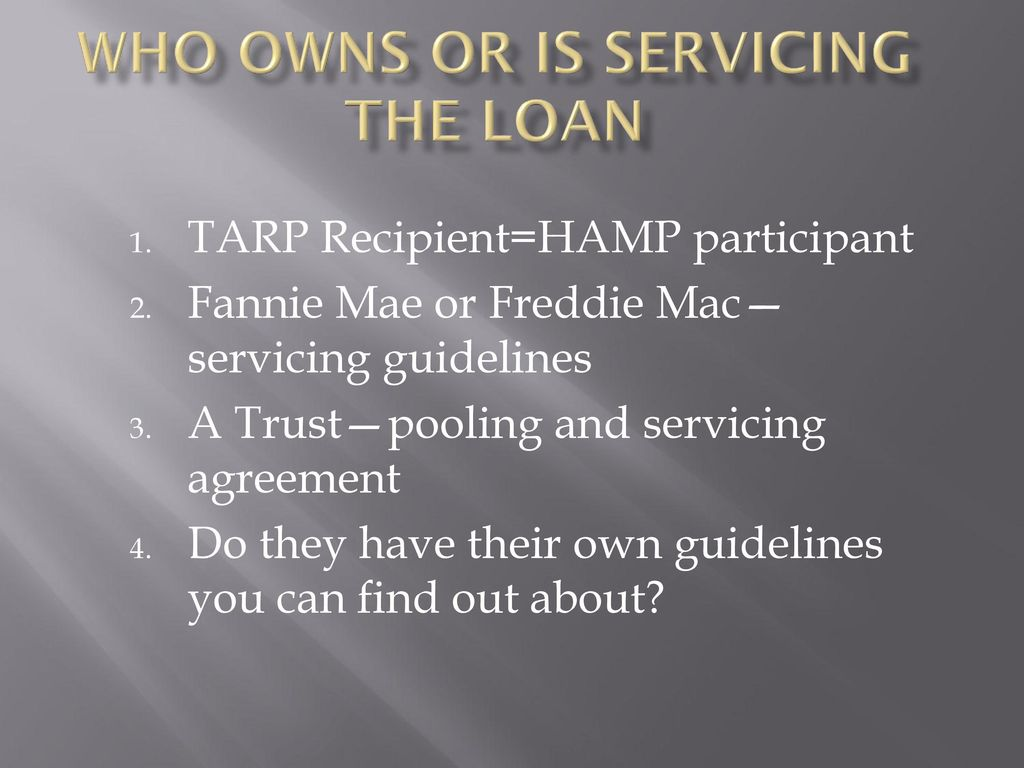 Foreclore representation tips ppt download who owns or is servicing the loan platinumwayz