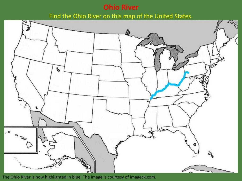 Ohio River Kids Britannica Kids Homework Help Buy Ohio River Map - Us map of ohio