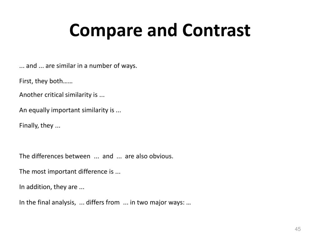 short writing often not just long writing seldom ppt  45 compare
