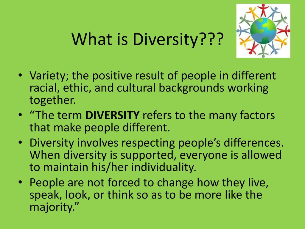 Creating a Diversity Training Manual.