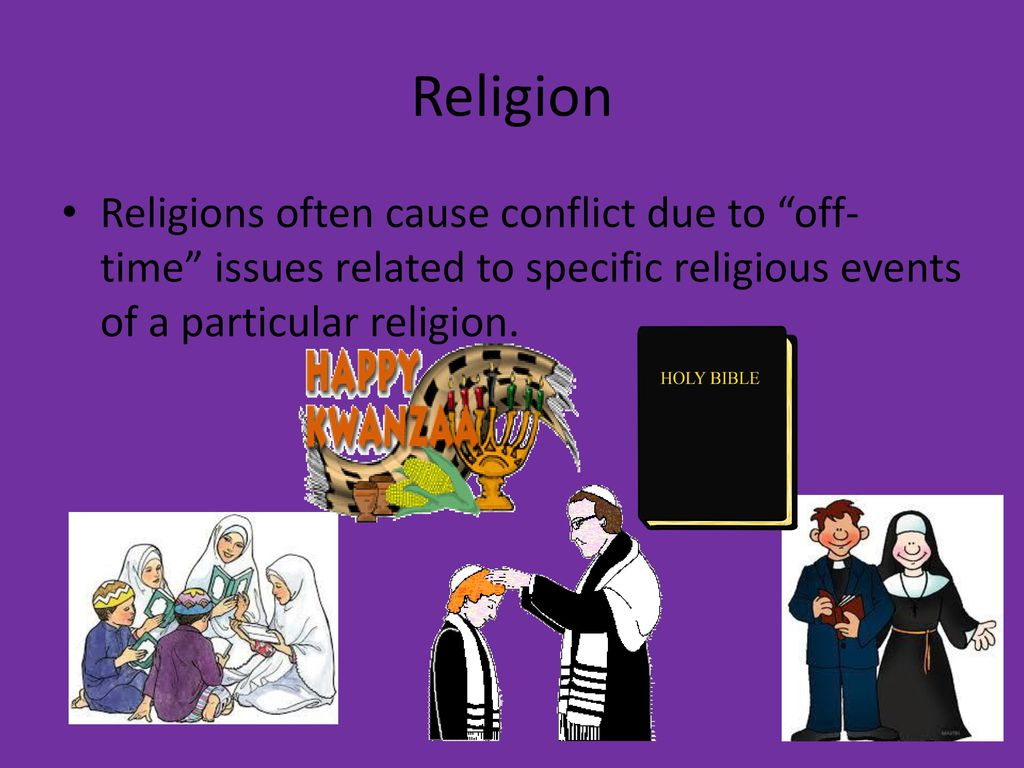 religion and relationship problems