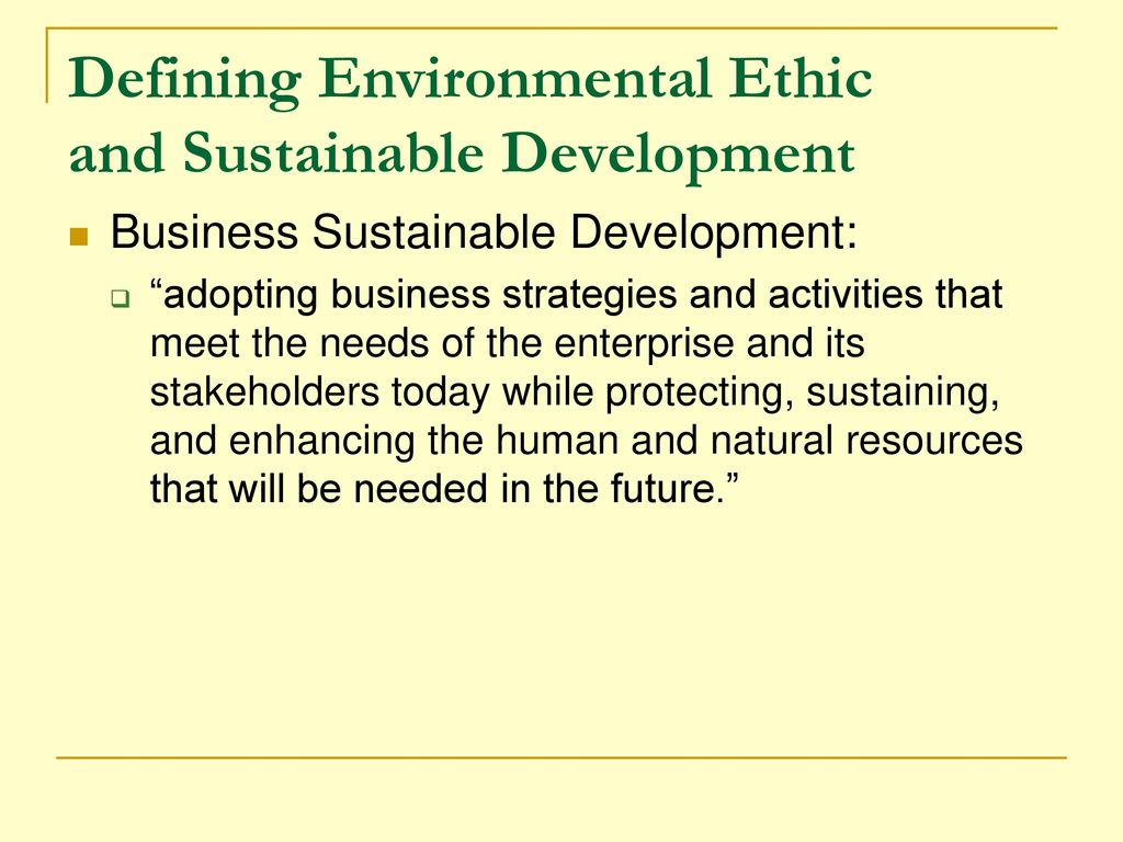 the concept of sustainable development strategy business essay 2 sustainable development: a review of the international development, business and accounting literature1 jan bebbington professor of accountancy, department of accountancy and finance.