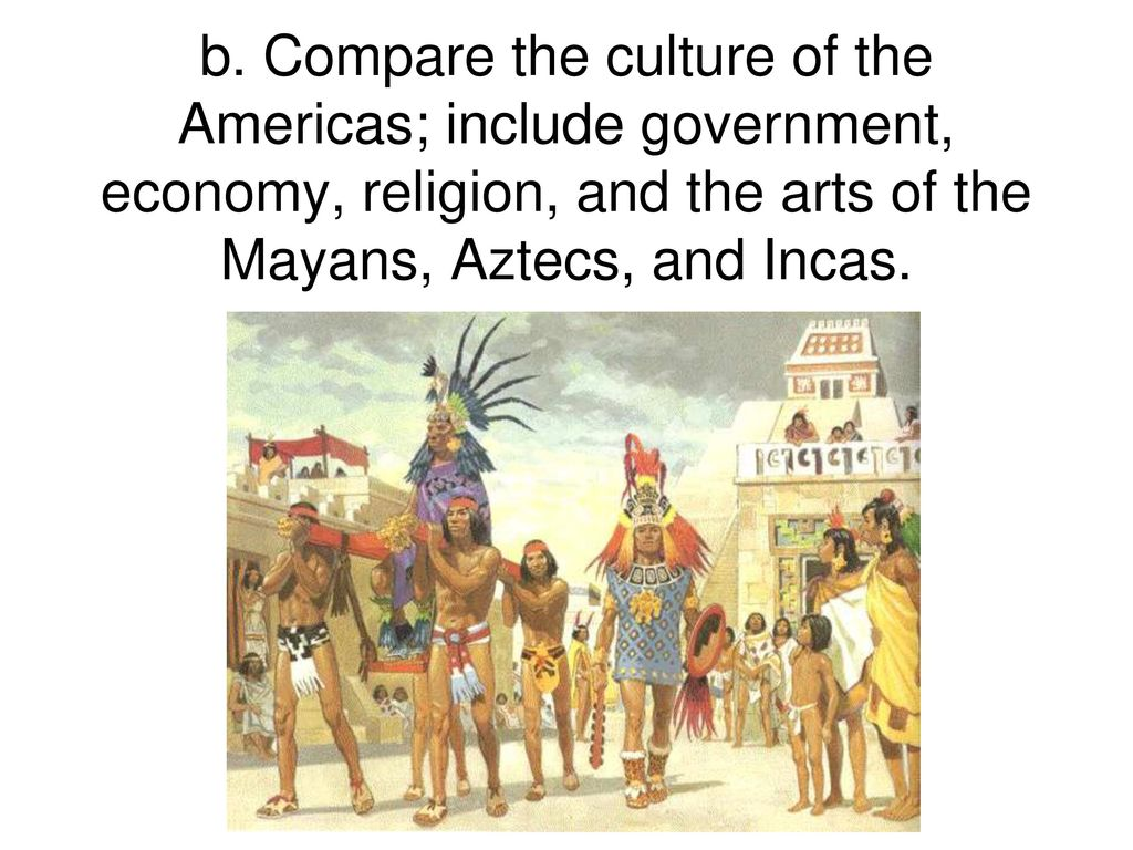 cultural development of aztec and inca