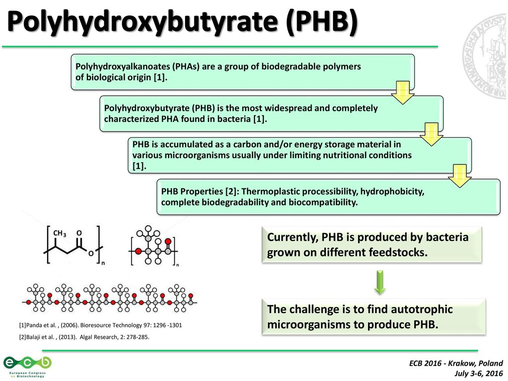 phb chemistry Orbital: the electronic journal of chemistry journal homepage:  examine how  chemical interactions between phb and essential oils, seen as.