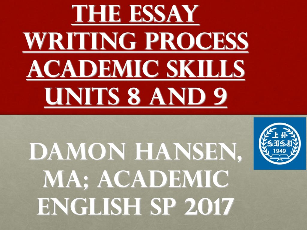 academic writing skills handout Quiz & worksheet - types of writing  your thoughts through writing, and this quiz/worksheet combo overview four main types of writing styles  enroll in nmta essential academic skills .