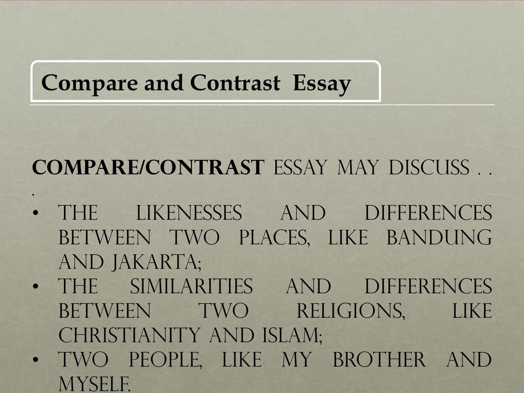 the essay writing process academic skills units and damon  compare and contrast essay