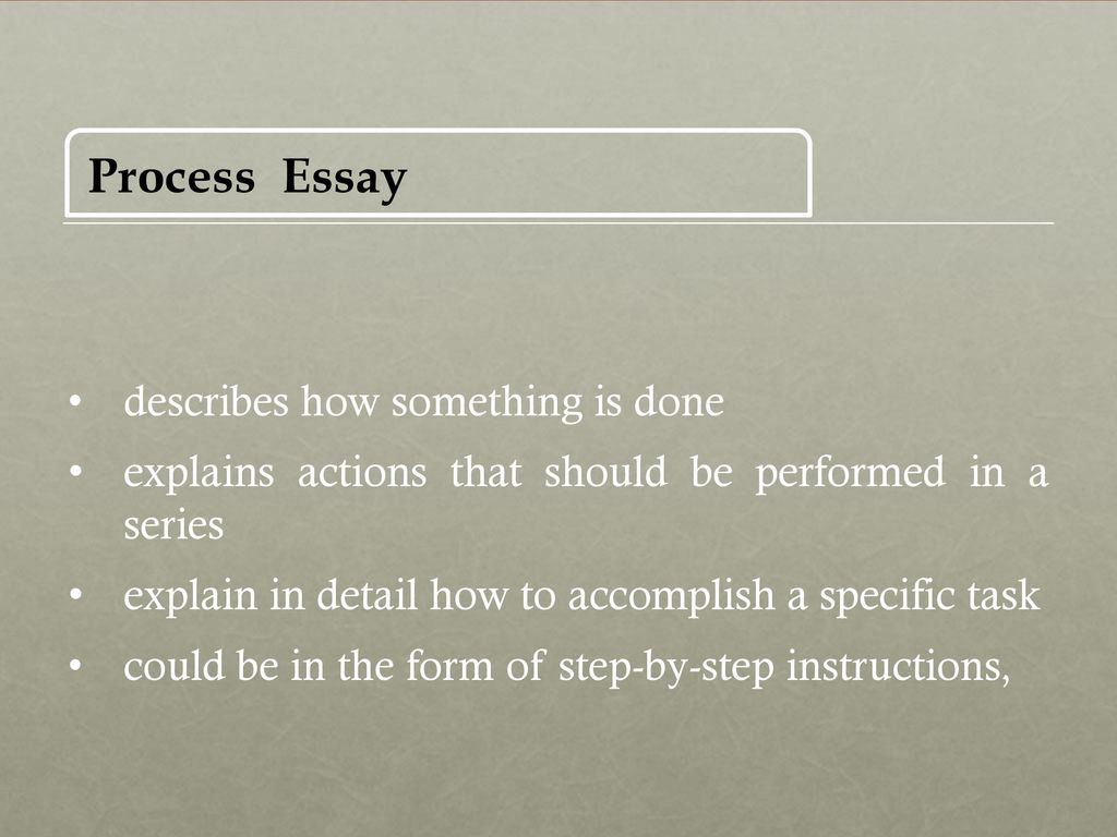 essay process something Don't sweat this part of the process,  10 tips for writing the college application essay share × share on facebook  religion, something serious, as long as you are balanced and thoughtful .