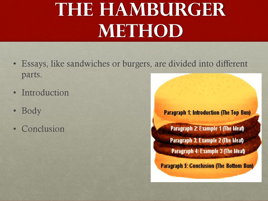 cheeseburger essay