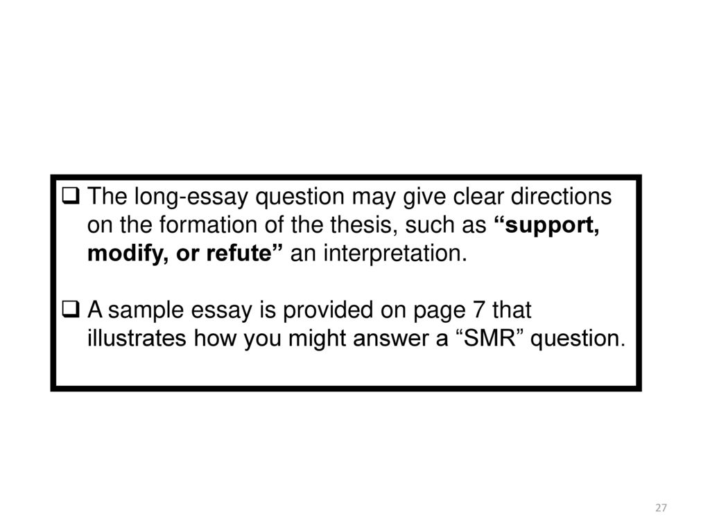 supporting and refuting a thesis statement  essay example  supporting and refuting a thesis statement